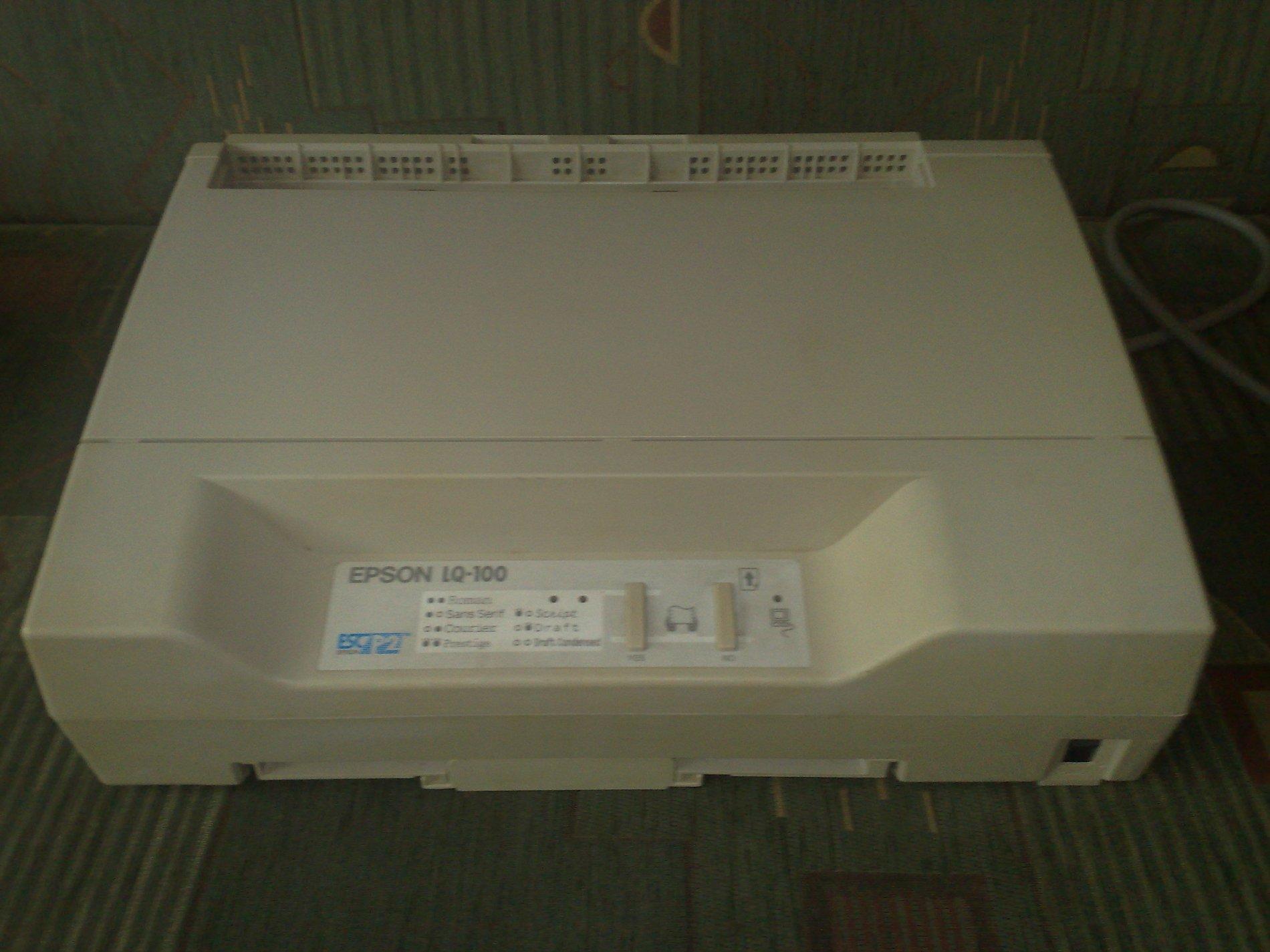 Epson LQ-100