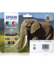 Multipack tinta negro + color Epson 24XL Claria Photo HD Ink