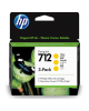 Cartuchos toner HP 712 pack de 3 Amarillo
