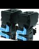 Doble Cartucho de toner Negro 6k x 2 para cx37