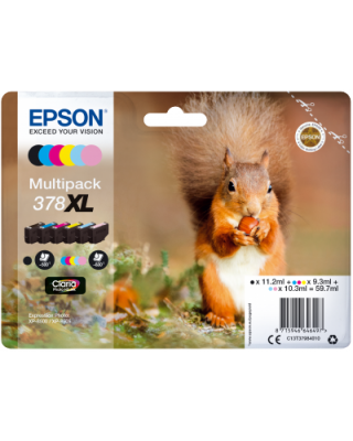 Multipack 6 colores 378 XL Claria Photo HD Ink