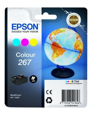 WorkForce Singlepack Colour 267 ink cartridge