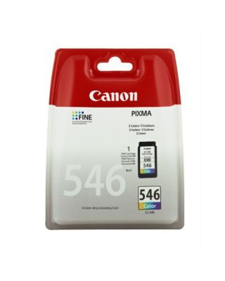 Cartucho tinta color Canon CL-546