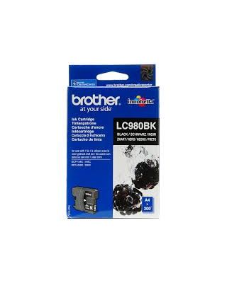 Cartucho negro Brother LC-980BK