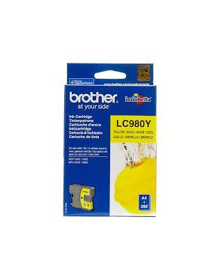 Cartucho amarillo Brother LC-980Y